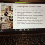 Launch of Learning from the Past online exhibition!